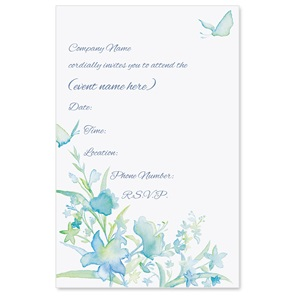 Summer Essence Casual Invitations