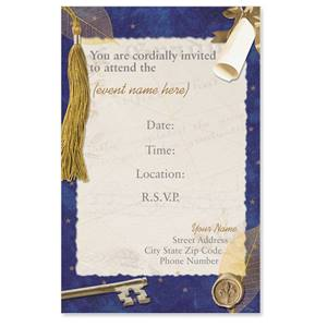 Key To The Future Casual Invitations
