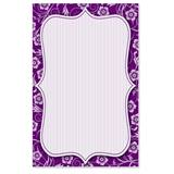 Delightful Purple Casual Invitations