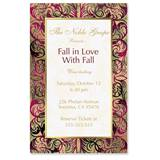 Marquetry Casual Invitations