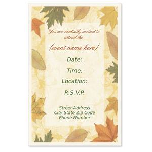 Umbria Casual Invitations
