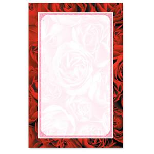 Red Red Rose Casual Invitations