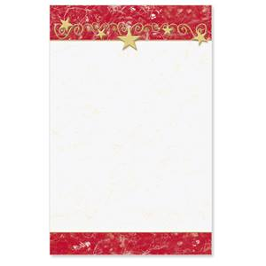 Gilded Stars Casual Invitations