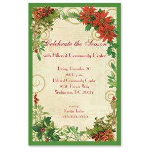 Noel Collage Casual Invitations