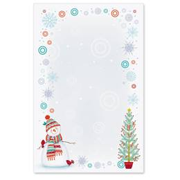 Snowman Delight Casual Invitations