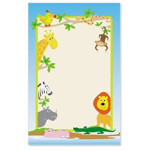Zoo Crew Casual Invitations