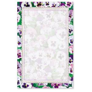 Pansies Casual Invitations