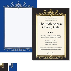 Debonaire Specialty Flat Invitations