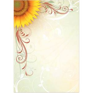 Helianthus Specialty Flat Invitations