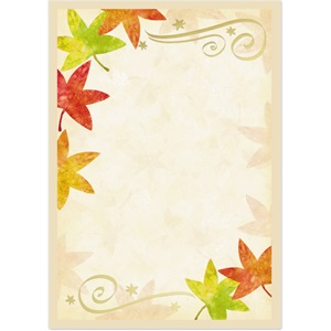 Autumn Fancy Specialty Flat Invitations