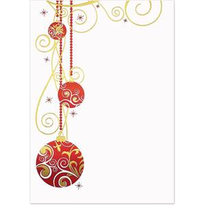Crimson and Gold Specialty Flat Invitations