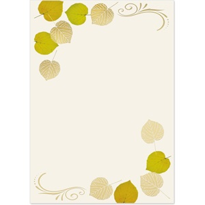 Aspens Turning Specialty Flat Invitations