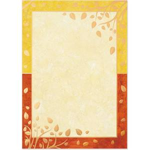 Autumn Afterglow Specialty Flat Invitations
