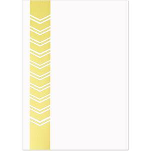 Chevron Glimmer Specialty Flat Invitations