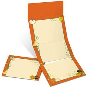 Gourd Harvest Fold-Up Invitations