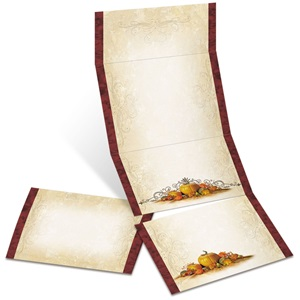 Cucurbit Fold-Up Invitations
