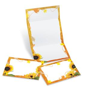 Sunflower Surprise Fold-Up Invitations