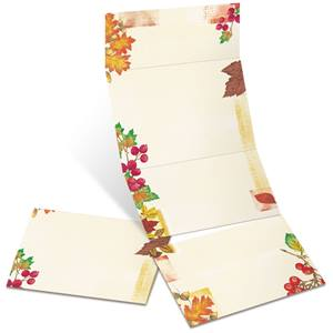 Fall Mix Fold-Up Invitations