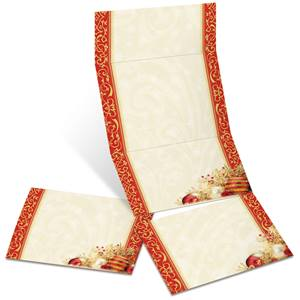 Radiant Merriment Fold-Up Invitations