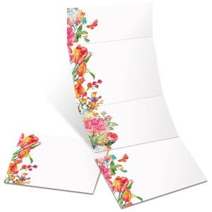 Pretty Petals Fold-Up Invitations