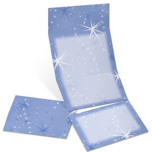 Celestial Fold-Up Invitations