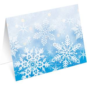 In The Frosty Air Notecards