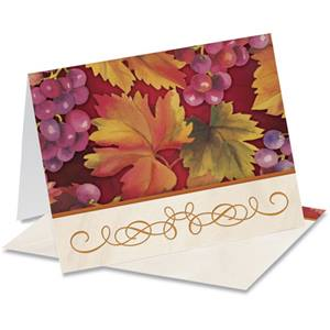 Autumn's Vineyard Notecards