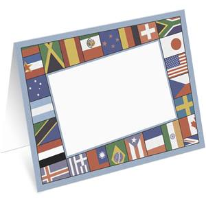 World Flags Notecards