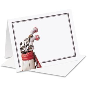 Tee Off Notecards