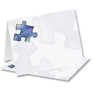 Puzzled Notecards