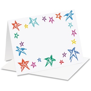 Festive Stars Notecards