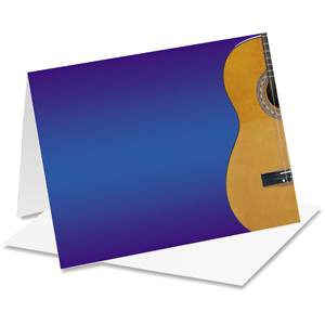 Acoustic Guitar Notecards
