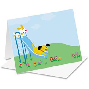 Dogs Playground Notecards