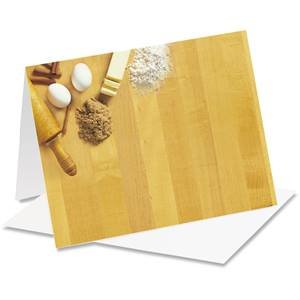 Cutting Board Baking Notecards
