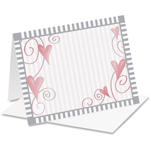Dancing Hearts Notecards
