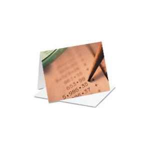 Pencil Accounting Notecards