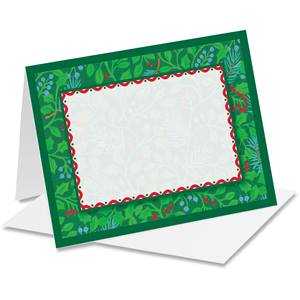 Holly Tapestry Notecards