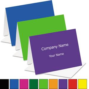 Brights Custom Color Notecards