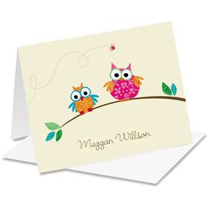 Lively Personalized Notecards