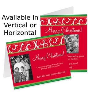 Brilliant Wish Holiday Photo Note Cards