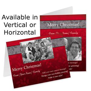 Old Fashioned Holiday Photo Note Cards