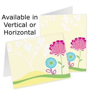 Whimsical Garden Photo Note Cards