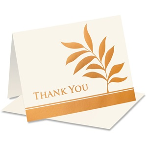Willow Specialty Thank You Notecards