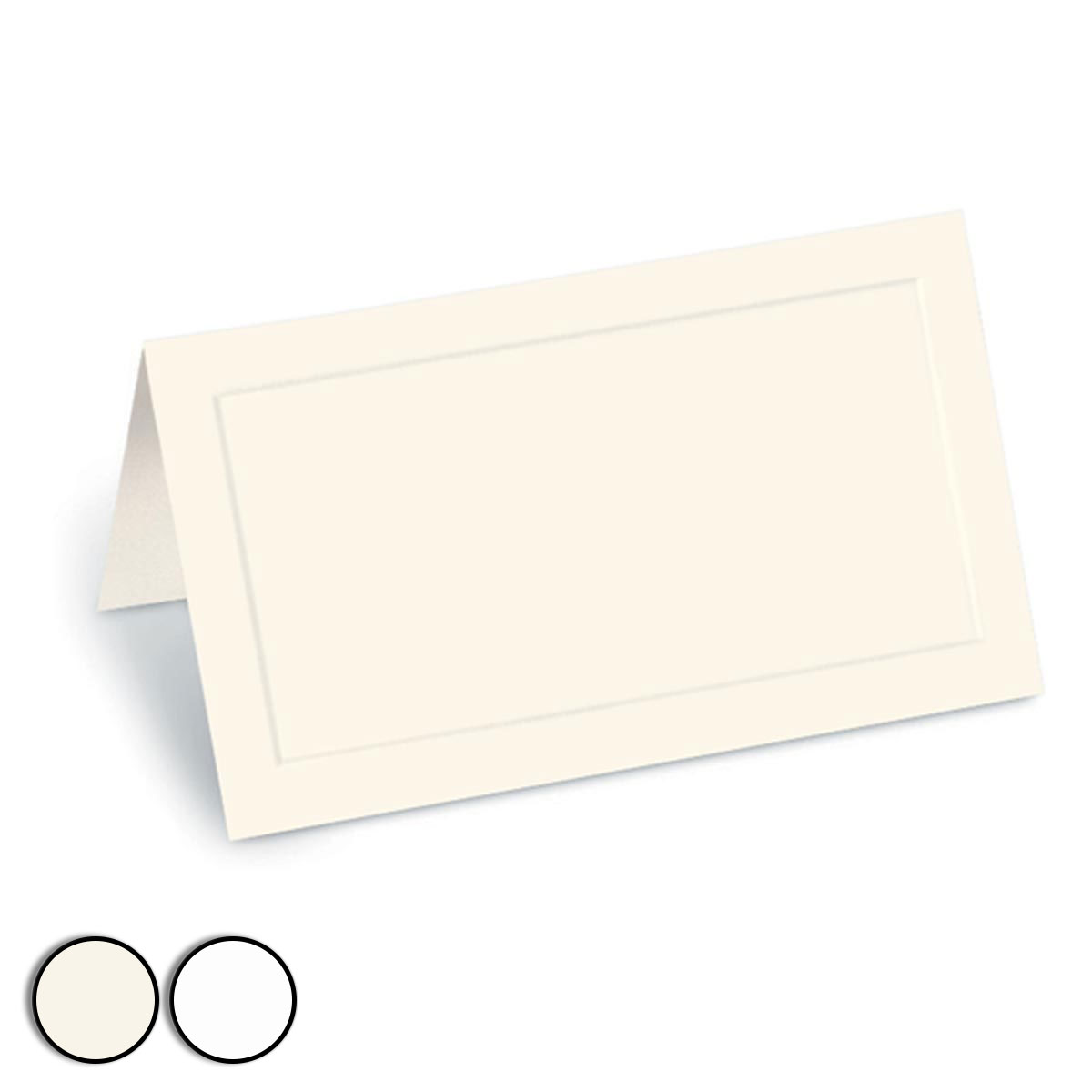 dignity folded place cards - Folded Place Cards