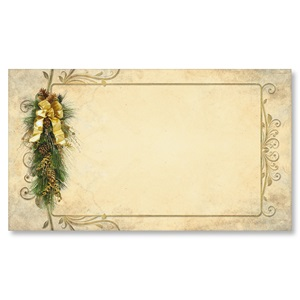 Pine Perfection Flat Place Cards