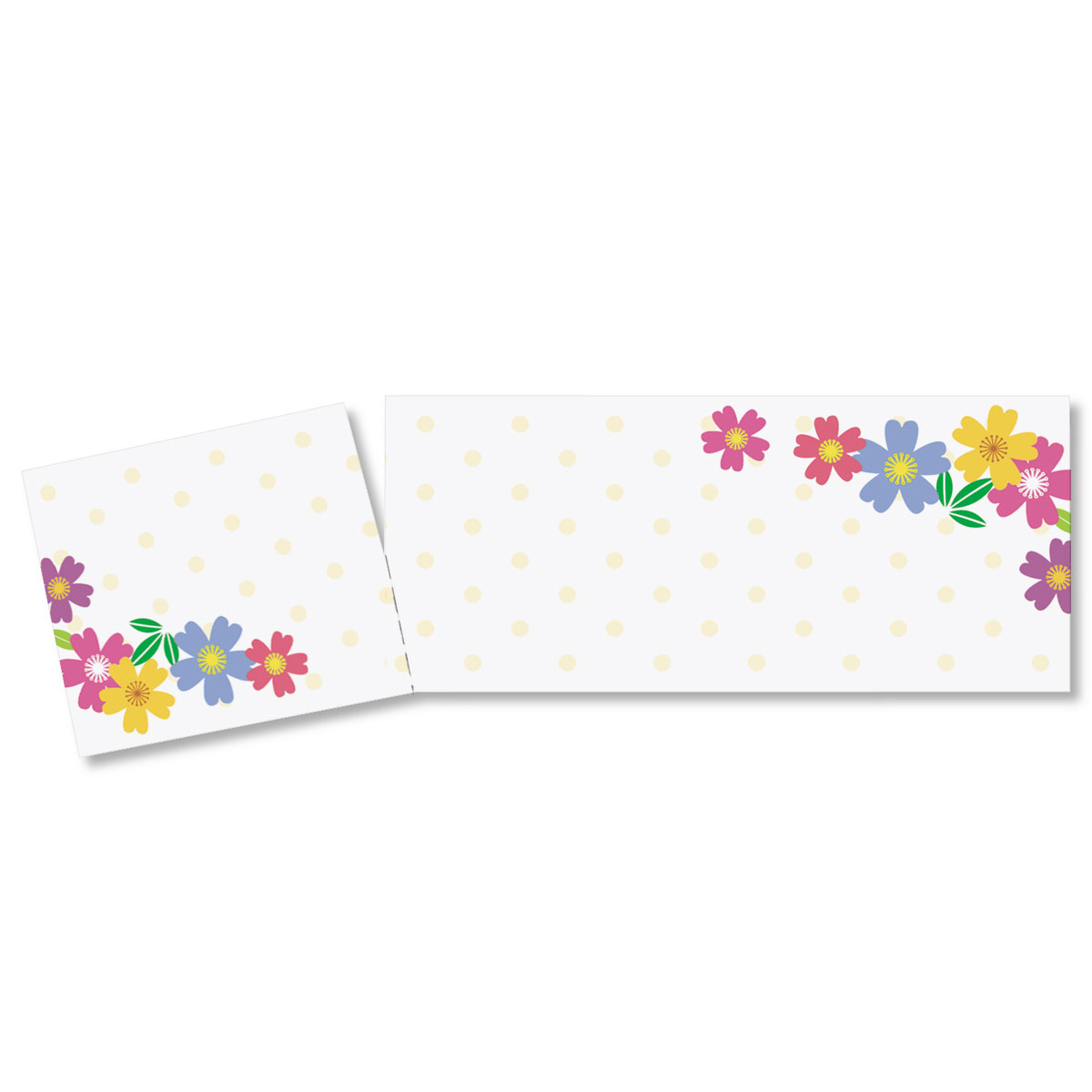 wild flowers tear off tickets paperdirect s