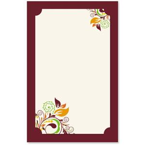 Fall Fantasia Layered Invitations