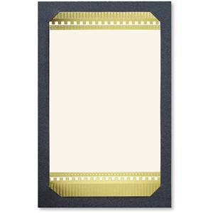 Gilded Stripes Layered Invitations