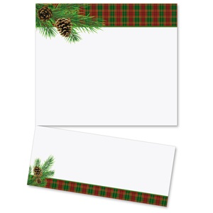 Traditional Plaid LetterTop Certificates
