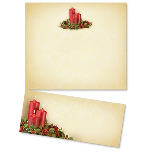 Candlelight and Holly LetterTop Certificates